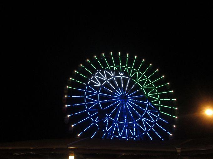 360度に広がるパノラマ!大観覧車からの富士山と駿河湾の絶景!