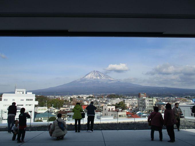 絶景を屋上から!展望ホールからの眺望