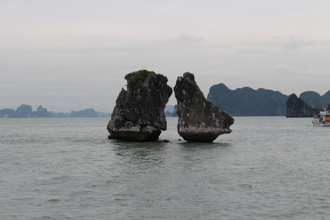 「ハロン湾」には奇岩がいっぱい!