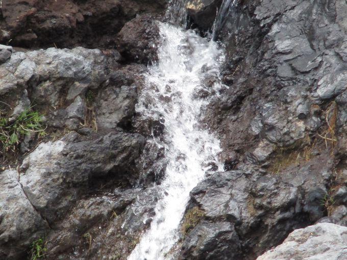 富士山の滝や川は珍しい!