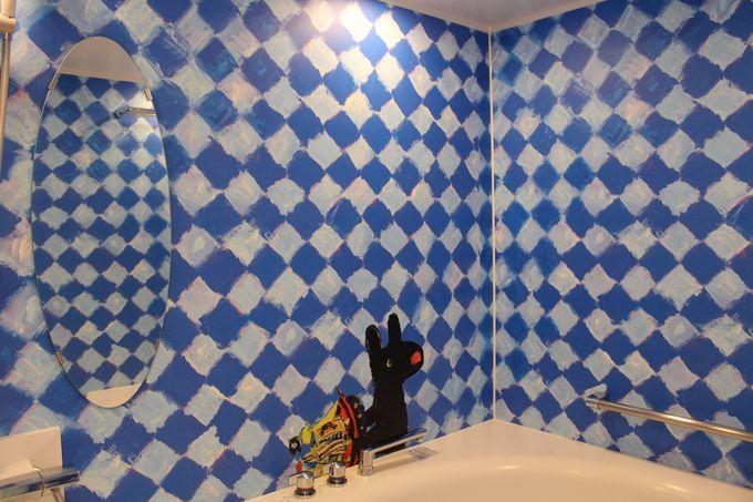 ガスパールのお部屋は青&黄色!