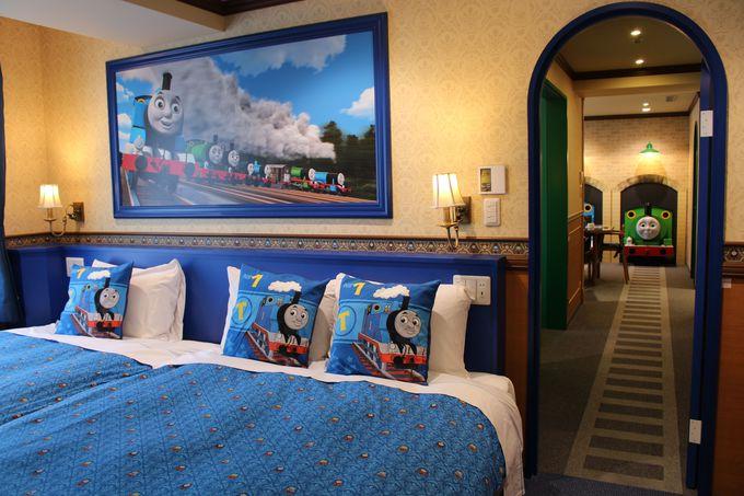ホテルで一番広いお部屋!スイートルームはトーマス尽くし