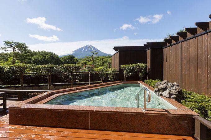 富士山を眺められる「富士眺望の湯 ゆらり」