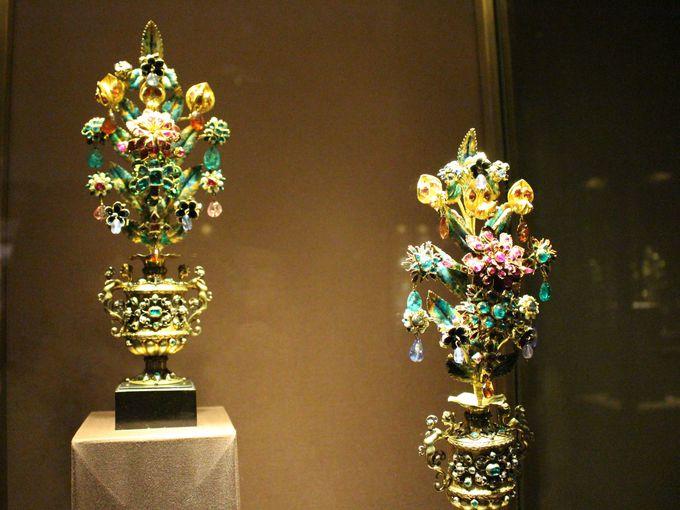 当時の最高の装飾品・工芸品がずらり