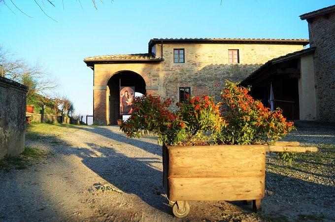 ジョットの生まれた町フィレンツェ郊外のヴィッキオ