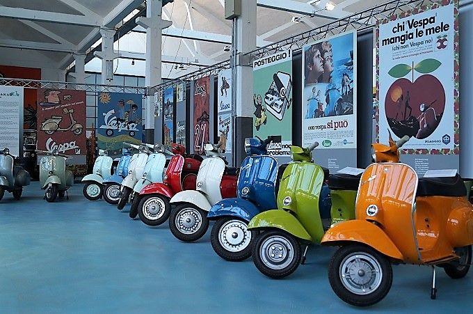 イタリア、オートバイメーカーのPiaggio社とは?
