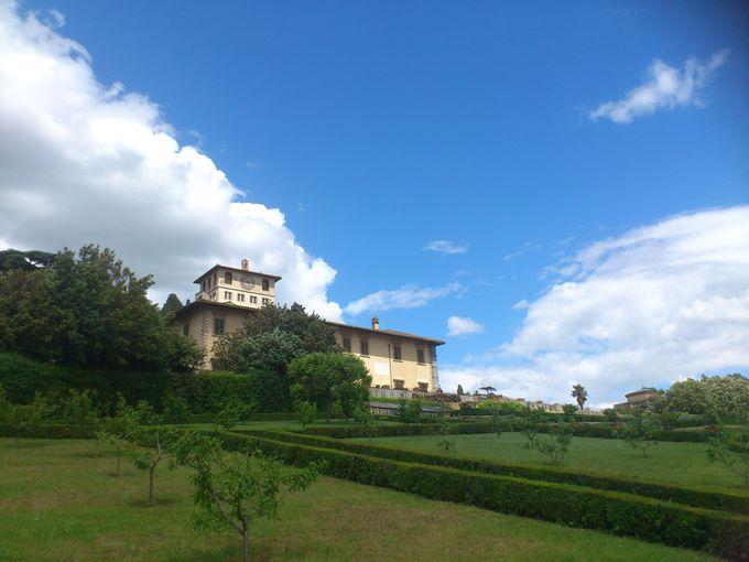 メディチ家、そしてイタリア王家に愛された「ぺトライア荘」