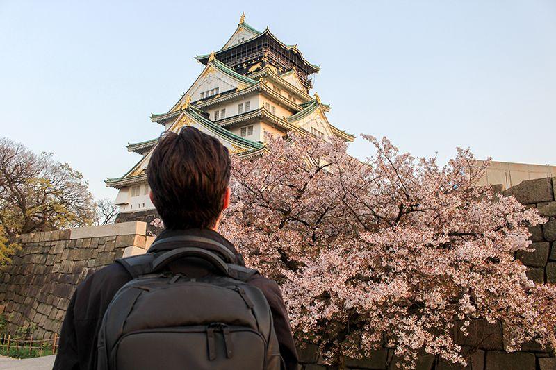はじめての大阪。まずは大阪城へ