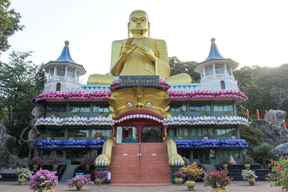 2日目午後:ダンブッラの黄金寺院