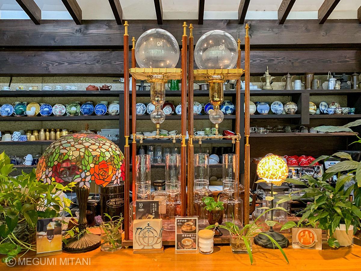 「非日常」な雰囲気が心地よいサザコーヒー本店
