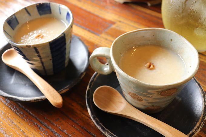 里山で味わう朝ごはん