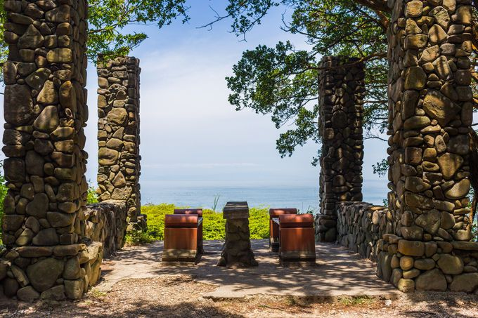 友ヶ島で絶景みながらピクニック