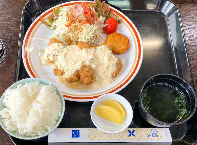 昼ごはんは宮崎名物のチキン南蛮!