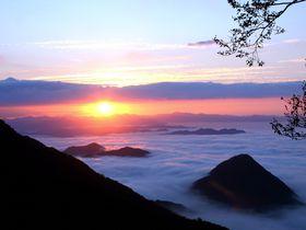 車で行ける京都大江山の雲海スポット!鬼嶽稲荷神社&トレイル