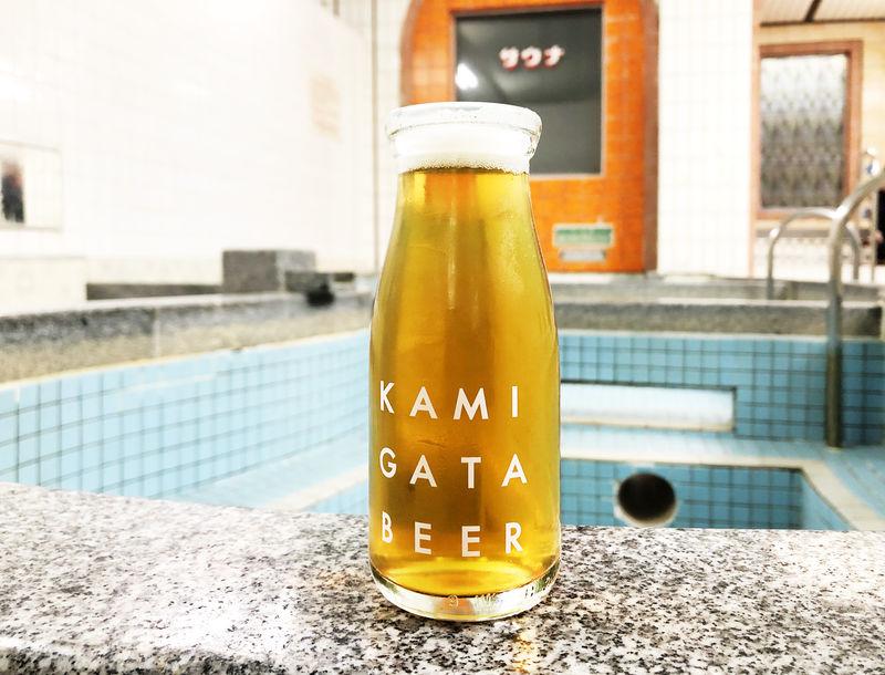 大阪・銭湯ブルワリー「上方ビール」牛乳瓶で味わうクラフトビール