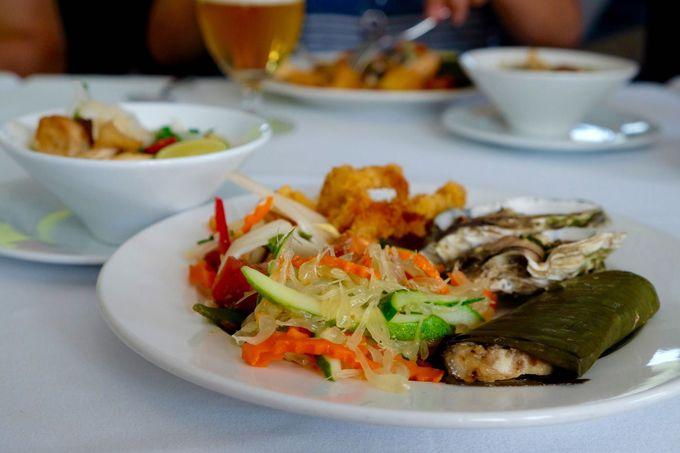 美味しいベトナム料理に舌鼓