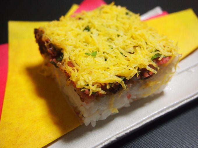 お店の個性が光る郷土料理・岩国寿司