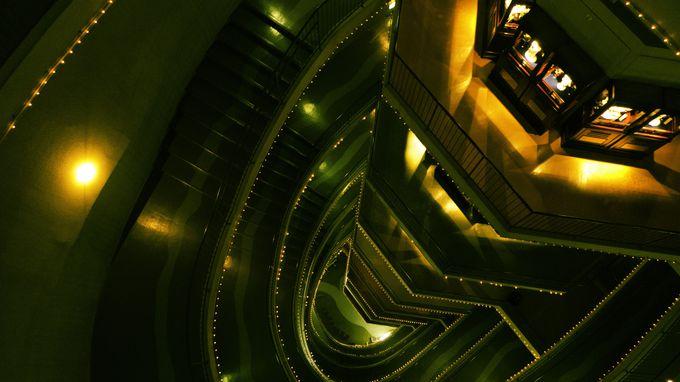 最上階から降りる時はぜひとも階段で