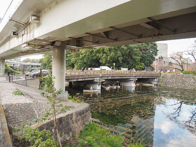 江戸城外堀跡と富士見坂