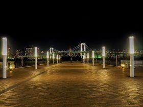 「踊る大捜査線」ロケ地、お台場海浜公園・展望デッキは夜景もきれい