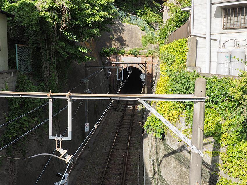 江ノ電唯一のトンネル