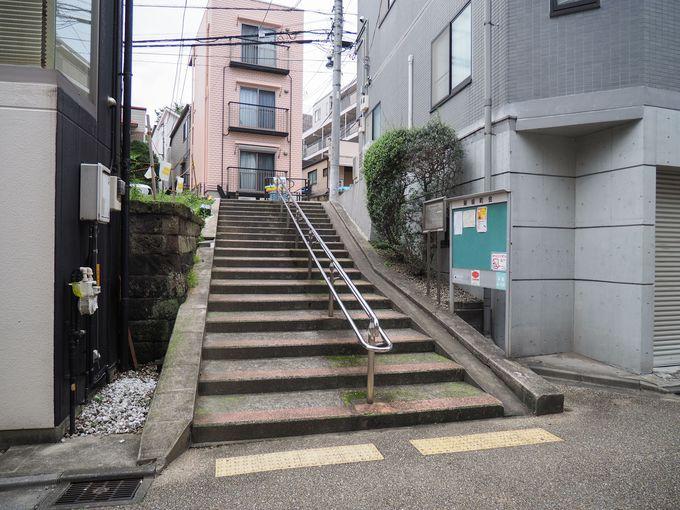 宮沢賢治が上り降りしたかもしれない階段