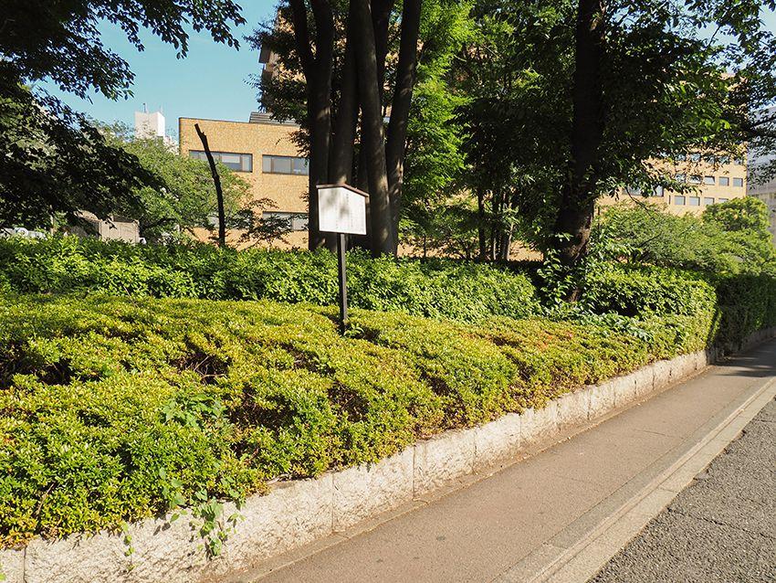 日本赤十字社発祥の地と外濠
