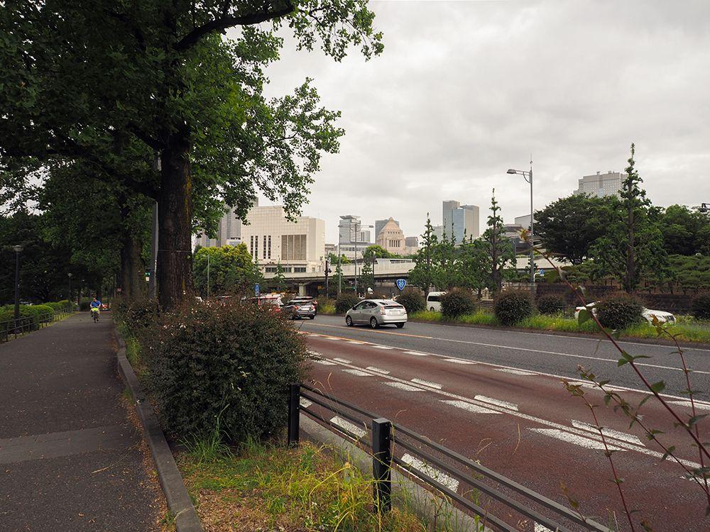 東京を代表的する坂道景観