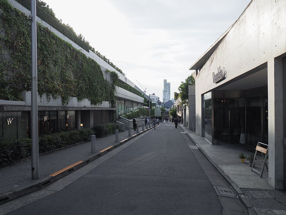 無名坂と渋谷川