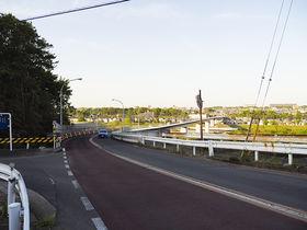 雄大な多摩川と羽村大橋の景色!あきる野市・江里坂と界隈坂道巡り