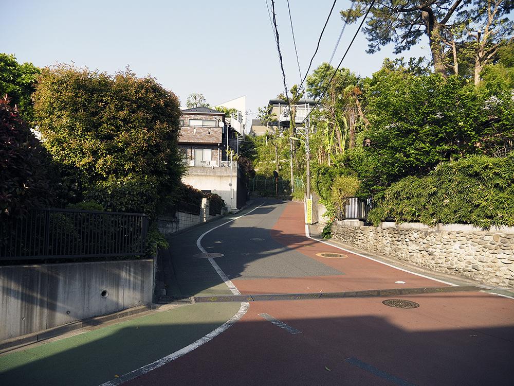 富士山も見える東京・成城の動坂となかんだの坂巡り