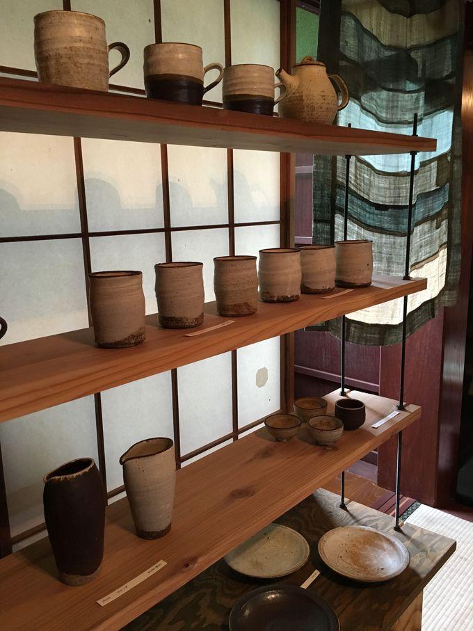 手作り作家さんの個展の部屋