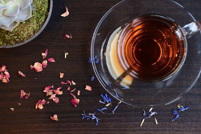 「SAIK 西玖」でしか試せないお茶メニュー