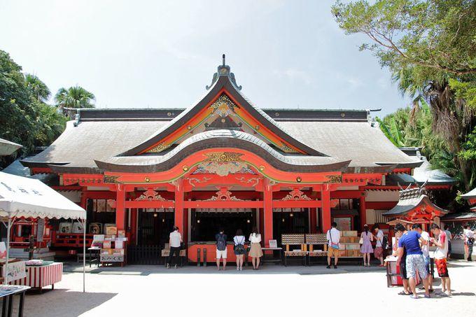 青島神社に祀られる神々の伝承
