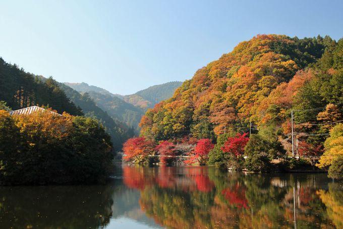 「乙女の湖」の異名もある、美しい湖