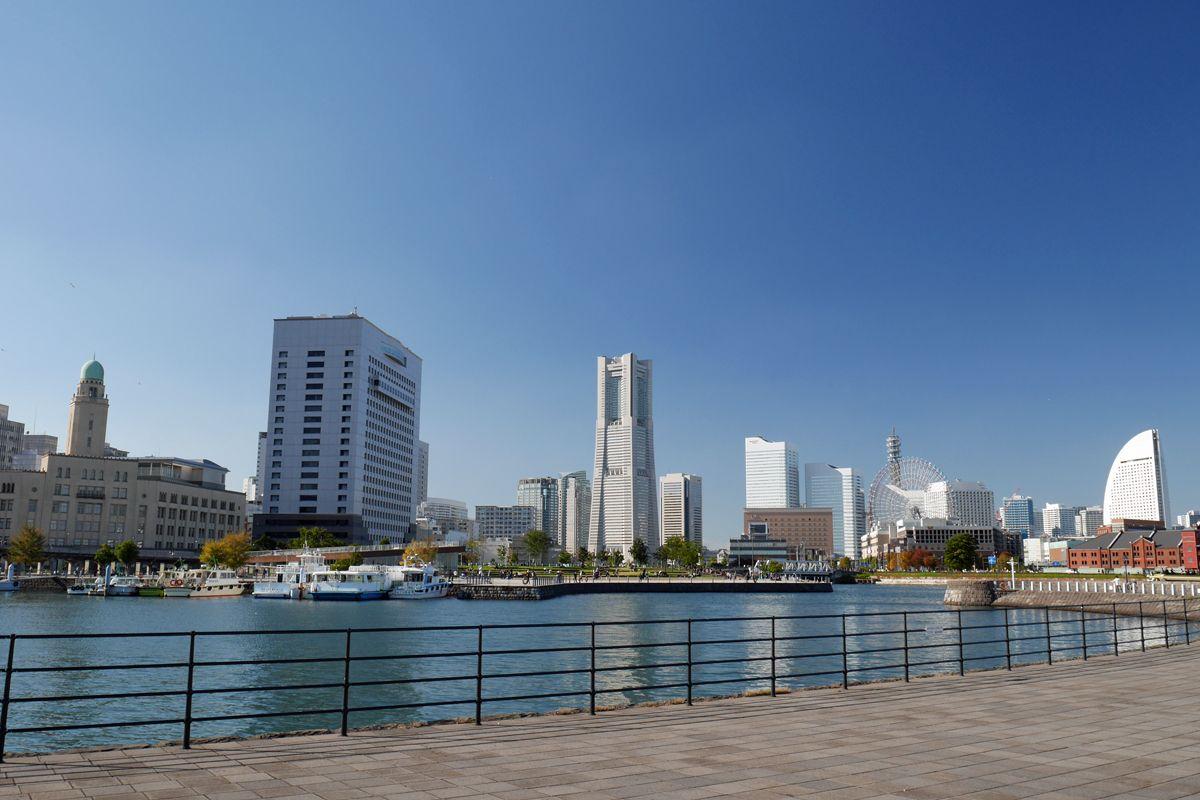 「象の鼻パーク」は横浜港発祥の地!防波堤からの景観も必見!