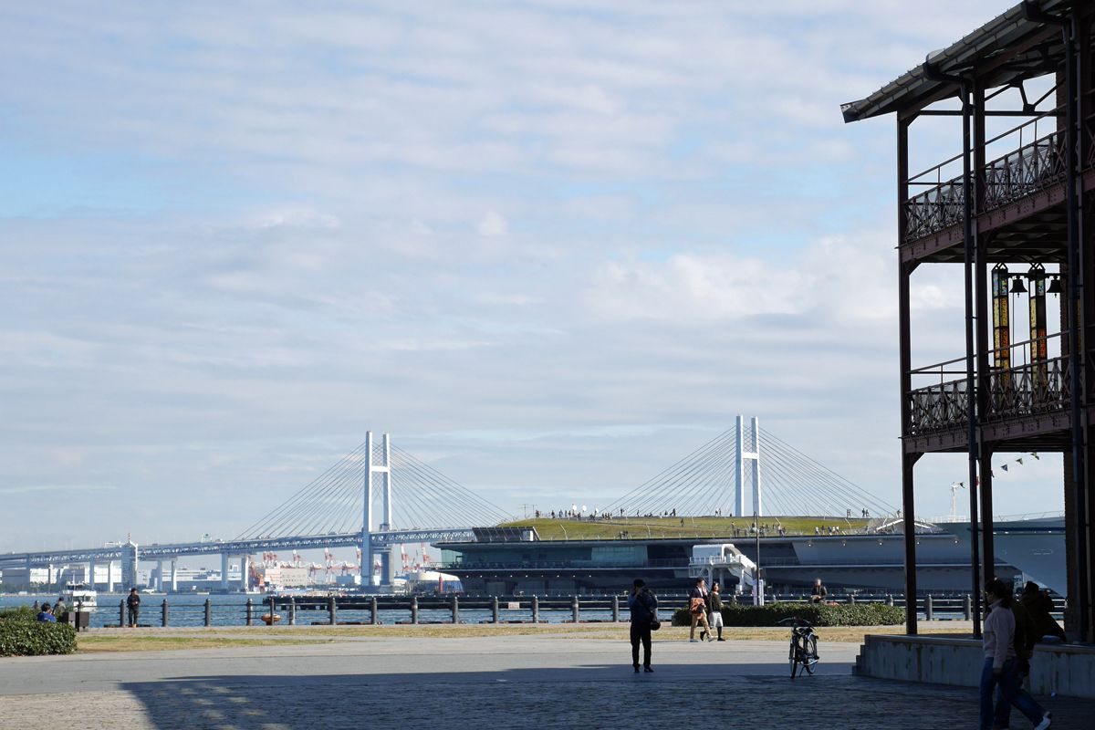 かつての横浜港を象徴する施設「赤レンガ倉庫」