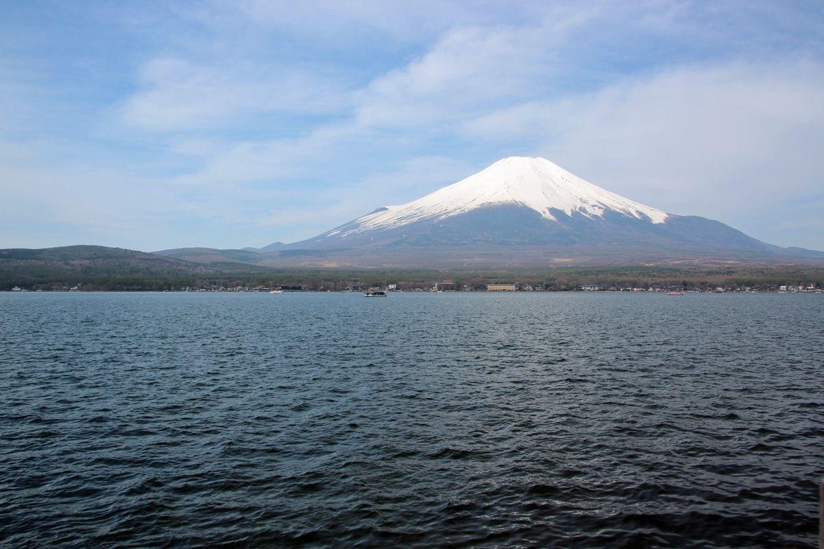 何はともあれ、まずは富士山ビュー!