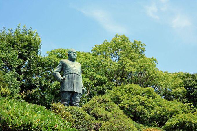 何はともあれ、「西郷隆盛銅像」の前で写真を撮っておこう!