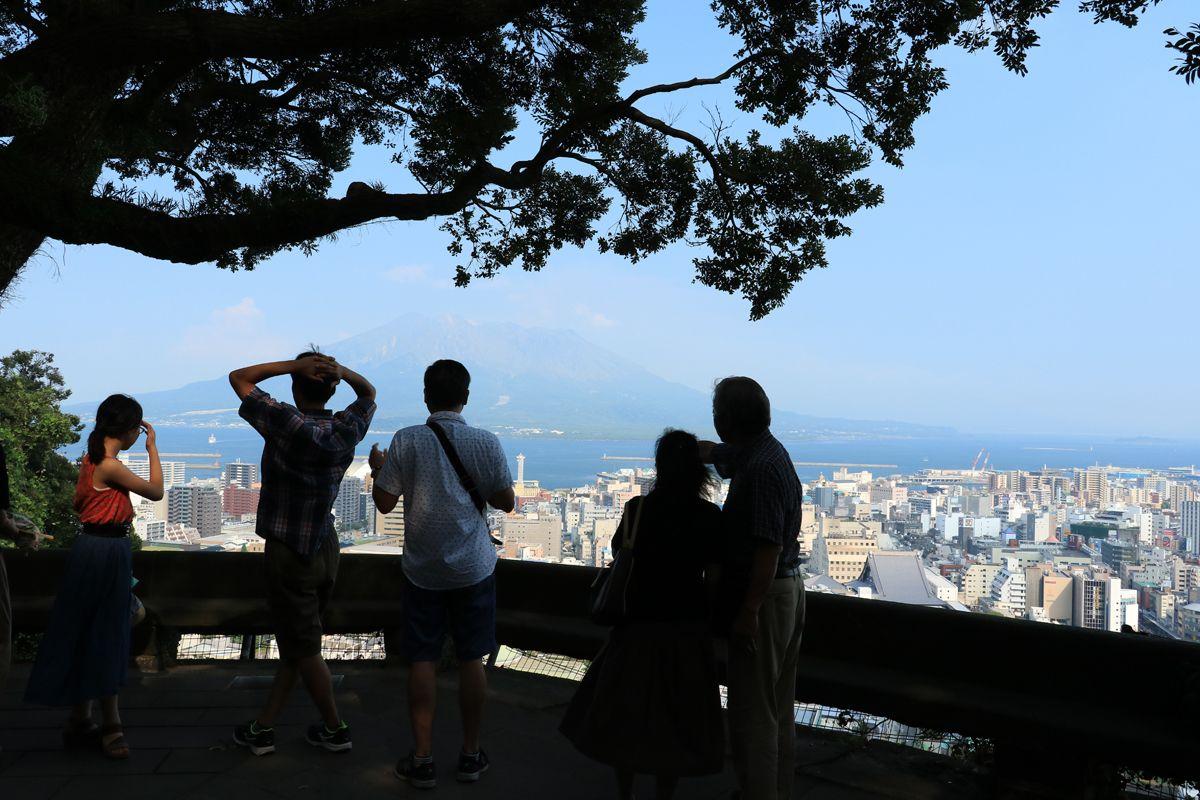 城山からの眺望も鹿児島観光に欠かせない!