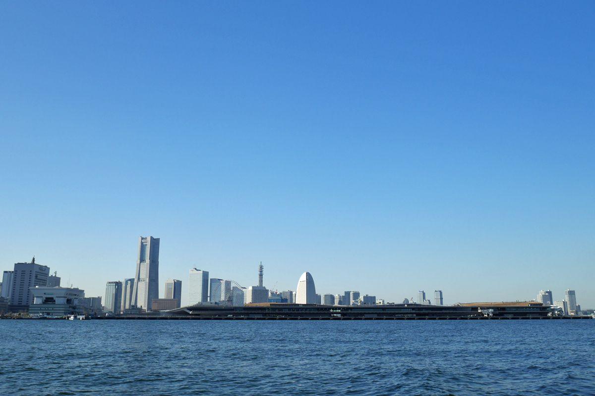 海上から見る風景も新鮮!