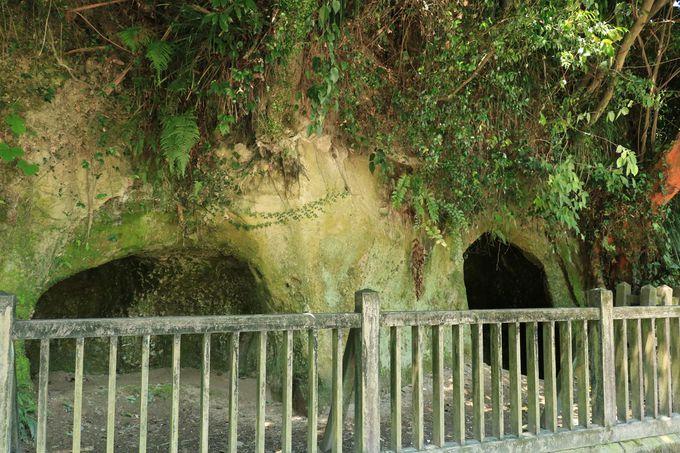 西南戦争末期に西郷隆盛が籠もった洞窟