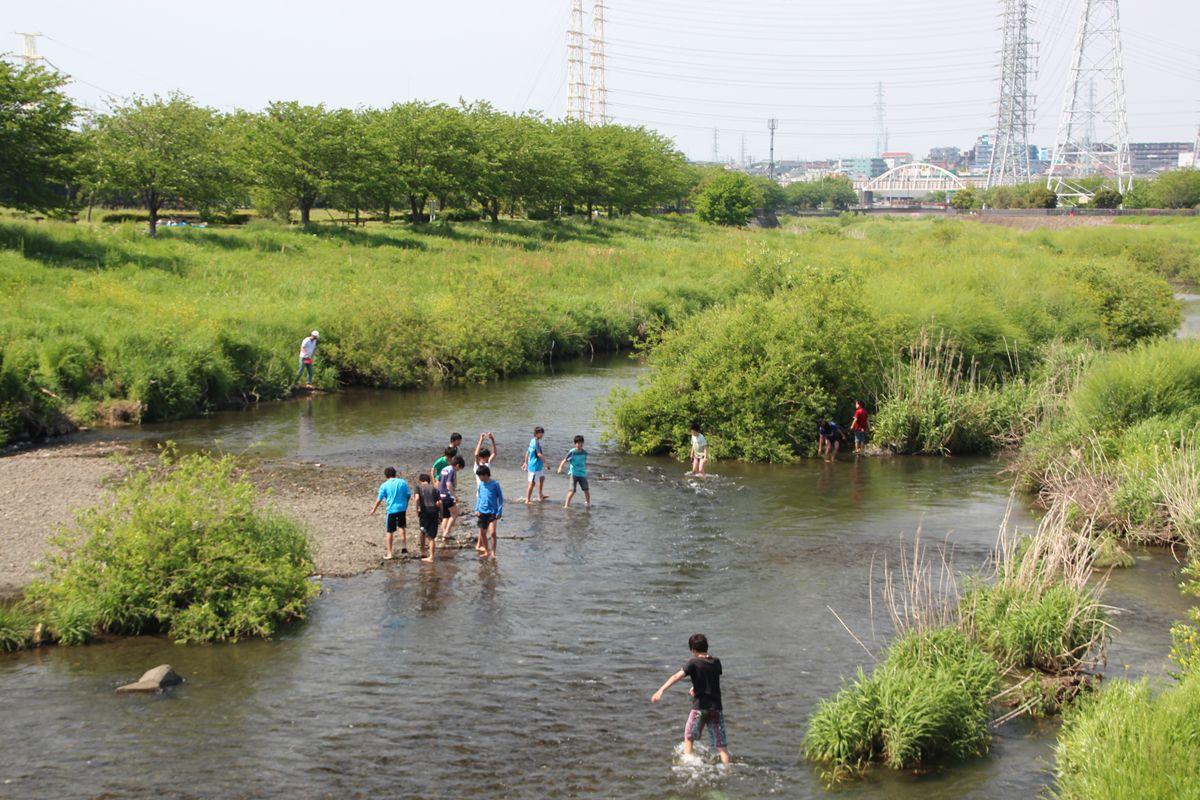 魅力的な親水公園、「引地川親水公園」へも足を延ばそう