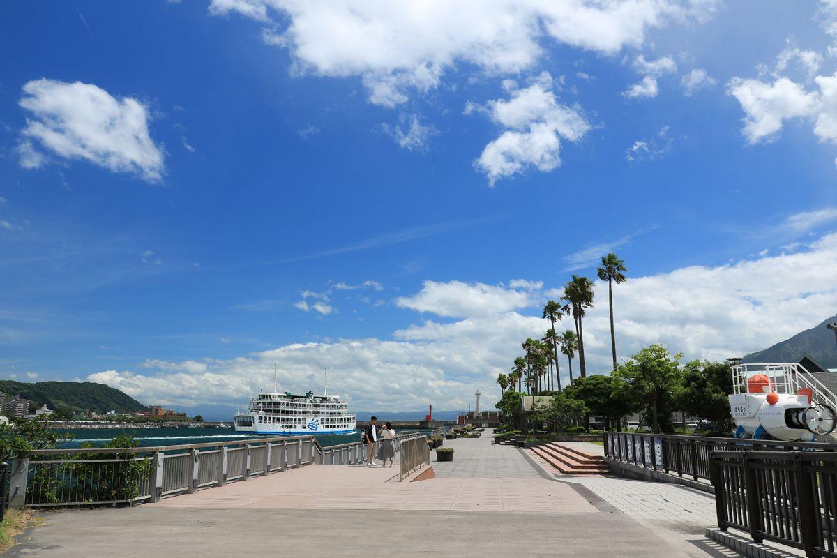 鹿児島旧港の遺構や潜水艇の展示も見学しておきたい