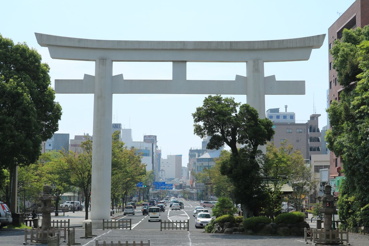 九州の大動脈はここが終点!鹿児島市「照国神社前」交差点