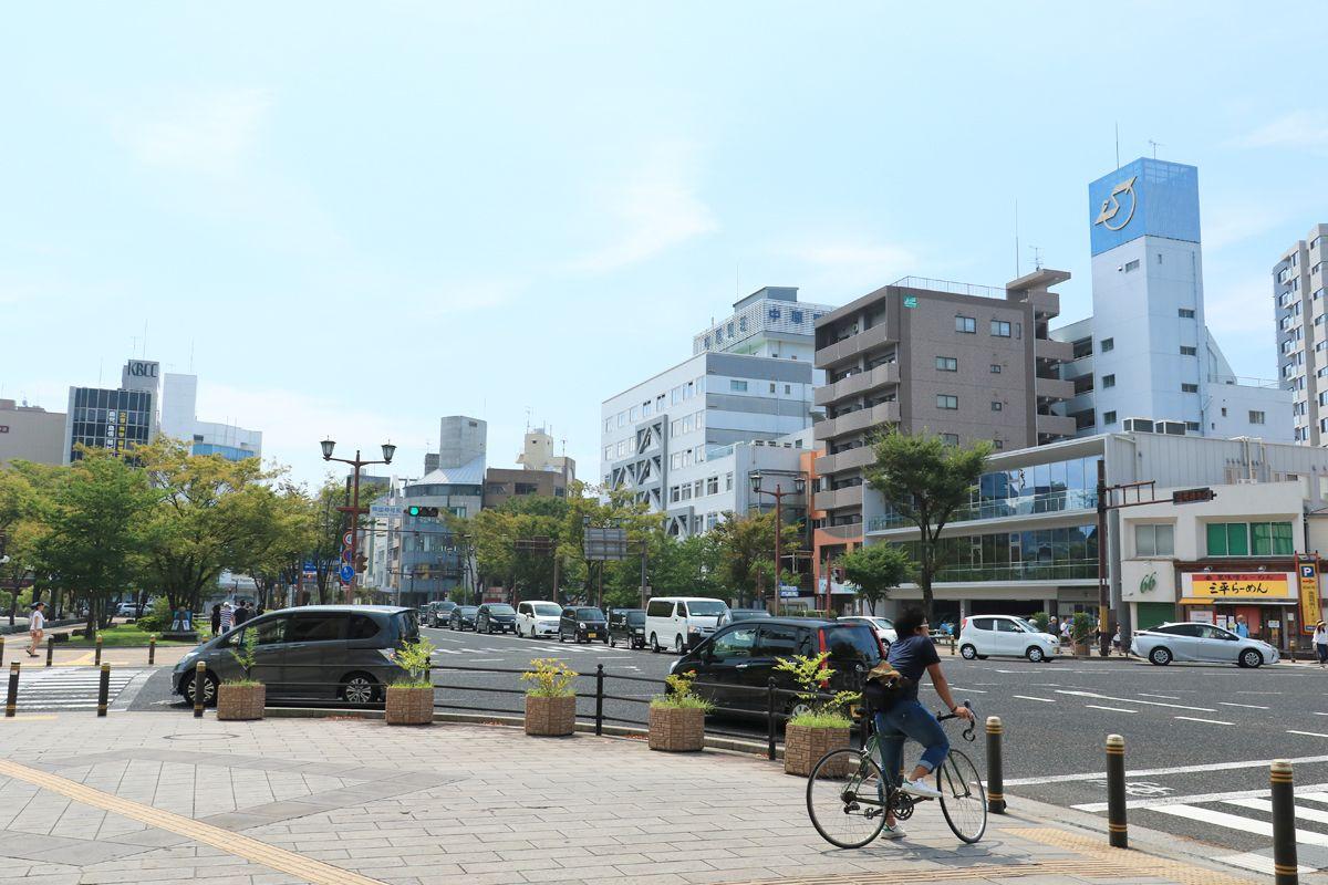 九州を貫く二本の国道の行き着く先