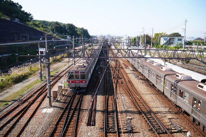 まずは長津田橋を目指そう!橋上からの眺めが壮観!