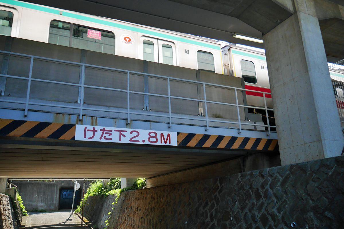 線路と電車を下から見上げろ!
