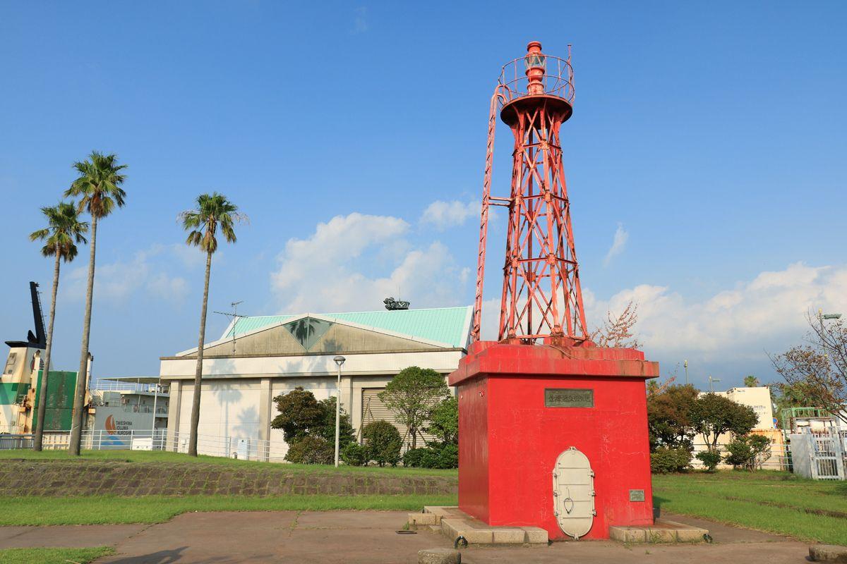 周辺に残る鹿児島旧港時代の遺構もぜひ見ておこう