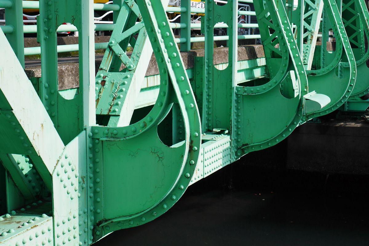 東京スカイツリーとのコラボも印象的な緑橋